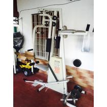 Multigymnacio Gym Pesas Aparato Importado Permuto Eeuu
