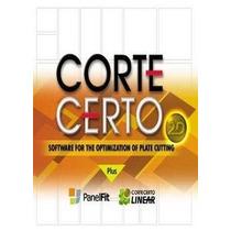 Corte Certo Plus Full Español 3.9 Optimiza Cortes Madera Met