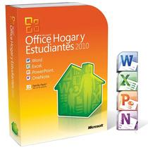 Microsoft Office 2010 Box Hogar Y Estudiantes Licencia 3 Pc