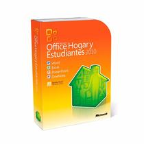 Office 2010 Hogar Y Estudiantes Box Original Para 3 Pc Dvd