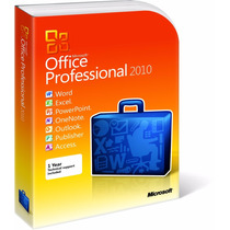 Office 2010 Pro Plus 1 Pc Licencia 100% Original Oferta!!