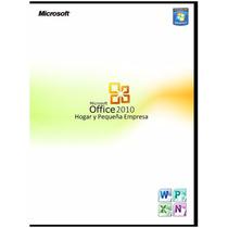 Programa: Microsoft Office 2010 Hogar Y Pequeña Empresa
