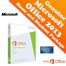 Office 2013 Hog&est Sp1 Español 3pc