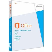 Microsoft Office 2013 Home & Business Caja Hogar Empresa