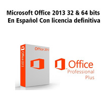 Microsoft Office 2013 32 Y 64 Bits + Project + Visio (1 Dvd)