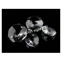 100 Botones De Cristal Facetado 14 Mm Araña Aplique Cairel