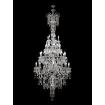Araña Royal 45 Luces En Cristal De Bohemia. Fabricantes.