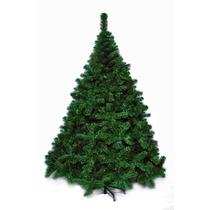 Árbol De Navidad Premium 2,10 Mts Pie Metálico
