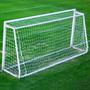 2 Redes Para Arco Baby Futbol 4x2m Profundidad 1m Filtro U V