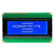 Display Lcd 2004 Backlight Azul 20x4 St7066 Arduino Pic Avr