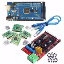 Kit Impresora 3d Display Arduino Mega2560 Ramps1.4 Pololux4