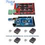 Kit Impresora 3d Hd Arduino Mega 2560 Ramps 1.4 Dvr A8825 X4