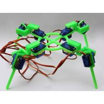 Chasis Robot Araña, Arduino / Rasperrypi / Pic