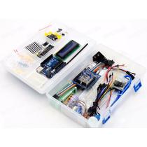 Kit Arduino Uno Principiante Con Caja Plástica Completo Ptec
