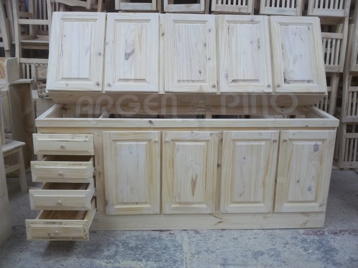 Muebles cocina pino 20170909201354 for Fabrica muebles madera
