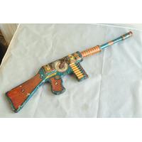 Ametralladora Pavi Lata Litografiada Dec 40 Argentina Arma
