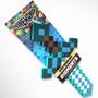 Espada Minecraft Fuego/diamante Grande