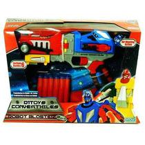 Pistola Blaster Transformer Convertible En Robot Ditoys