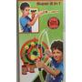 Juego Set 2 En 1 Arco Flecha Y Cervatana Archery Zap 44225