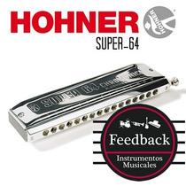 Hohner Super 64 - Armonica Cromatica 64v - Abs - C