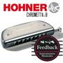 Hohner Chrometta-8 - Armonica Cromatica 32v - Abs - C