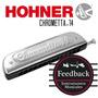 Hohner Chrometta-14 - Armonica Cromatica 56v - Abs - C