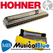 Armonica Hohner Echo Tremolo 48v - Madera - C M2509017