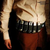 Cinturon Porta Armonicas Tipo Cartucho (7 Armonicas) Simisol