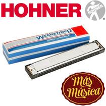 Hohner M232601sarmónica Trémolo Weekender 32 Tonos