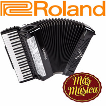 Acordeon Acustico V-accordion Roland Fr-8x Bk