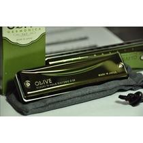 Armonica Suzuki Olive C20 Diatonica Consultar Tonalidad!