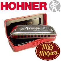 Armónica Golden Melody; 20 Voces - Hohner