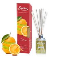 Perfume Difusor Aromatizador Con Varillas De Bambu Saphirus