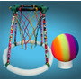 Basquet / Basket Flotante Para Piletas C/pelota - Pvc - 47cm