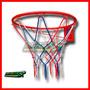 Aro De Basket,basquet Tamaño Profesional Con Red(45 Cm Diám)