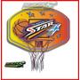 Tablero De Basquet + Aro Basket Semiprofesional (86cmx 61cm)