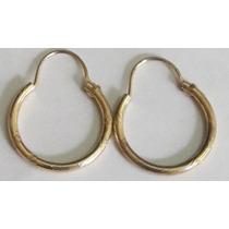Accesorio De Oro, Aros De Gold Filled Americano 14k 1/20