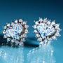 Aros De Diamantes Diamondaura Plata Esterlina.stauer