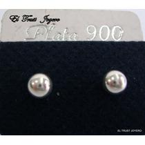 Par Aros Plata 900 Bolita Nº 5 Pasante Garantia El Trust