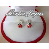 Aritos Abridores Plata 950 Vaquita San Antonio - M. J. -