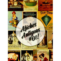 Láminas Decoupage Autoadhesivas - Afiches Antiguos - Retro