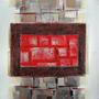 Cuadro Alto Design 2513-1 Oleos & Acrilicos. Arte Moderno.