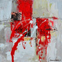 Cuadro Alto Design 5221-1 Oleos & Acrilicos. Arte Moderno.