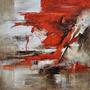 Cuadro Alto Design 5094-1 Oleos & Acrilicos. Arte Moderno.