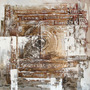 Cuadro Alto Design 3335-1 Oleos & Acrilicos. Arte Moderno.
