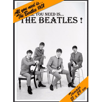 All You Need Is.. The Beatles - Autoadhesivas - 21 X 29 Cm
