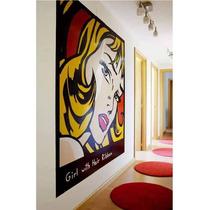 Cuadros Pop Art Pintados Al Oleo! Warhol, Roy, Dali