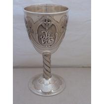 Caliz Metal Plata 925 Pieza De Coleccion Unica Bergoglio