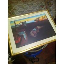 @@@ Cuadro Con Vidrio Lámina Salvador De Dalí Miralo!!!