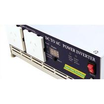 Inversor Corriente 2500w/5000w P/ Casa C/ Heladera Y Freezer